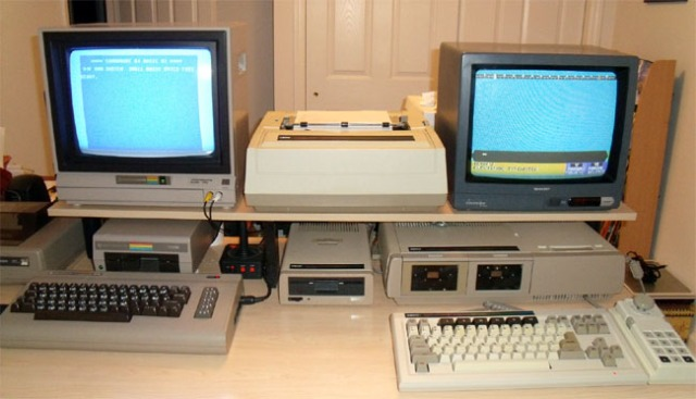 C64 and Coleco ADAM