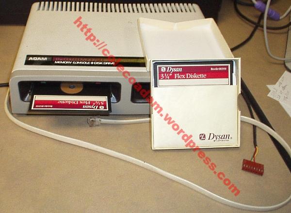 ADAM 3.25 inch disk drive prototype
