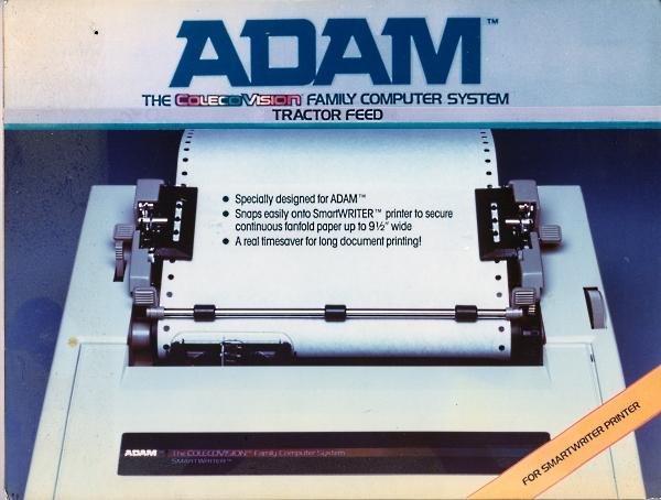Coleco ADAM tractor accessory
