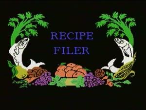 Recipe Filer