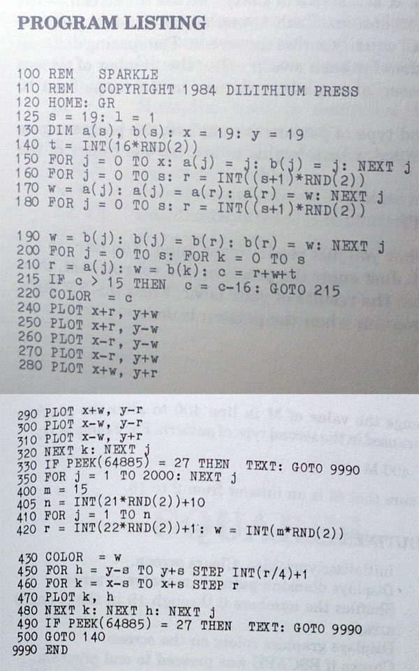 SparkleCode